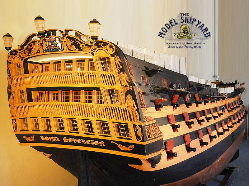 HMS Royal Sovereign Model Ship | Large Model Ship